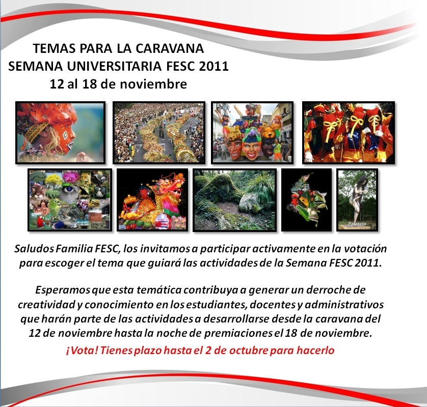 Temas Caravana 2011