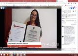 Entrega de títulos y ceremonia grados Virtual Línea de acción Graduados